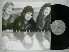 Wilson Phillips Shadows and Light 1992 LP Picture & Lyric W/In + W/Poster Promo