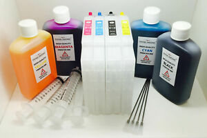 Sublimation Refillable ink cartridge set for RICOH SG3110DN GC-41