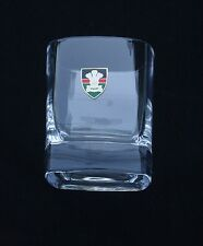 Royal Welsh  Regiment Pair of Crystal Tumblers Gift presentation Box BGK55