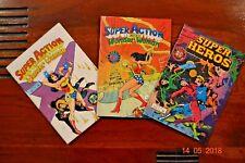Bd - Super Action (Wonder Woman) et Super Héros - détail an annonce.