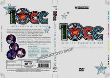 10cc Alive the classic hits on tour. New item.