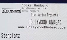 Tickets Hollywood Undead Hamburg 20.02.18 Stehplätze Konzertkarten Karten