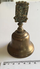 Vintage Collector's Decorative St Andrew's Brass Bell