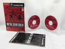 NINTENDO GAME CUBE Japanese ver. Metal Gear Solid The Twin Snakes TrackingNo.