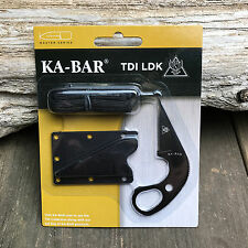 Ka-Bar TDI LDK Law Enforcement Last Ditch Tactical Neck/Boot Knife 1478BP New!