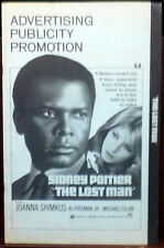 Joanna Shimkus Sidney Poitier The Lost Man Original 1960s Pressbook