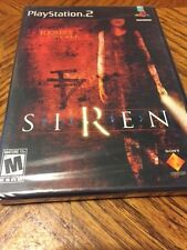 Siren (Sony PlayStation 2, 2004) Complete PS2 Adventire Horror