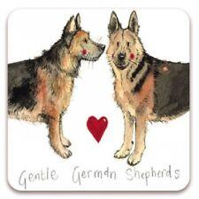 Alex Clark 'GENTLE GERMAN SHEPHERDS' Dog  Fridge Magnet
