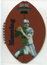 1998 Playoff Contenders Leather 37 Peyton Manning Rookie