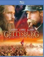 Gettysburg (Blu-ray Disc, 2011 Directors Cut) Tom Berenger NEW
