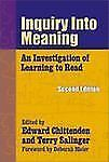 Inquiry into Meaning: An Investigation of Learning to Read (Language and Literac