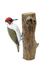 Archipel D274 sculpture sur bois-Green Woodpecker