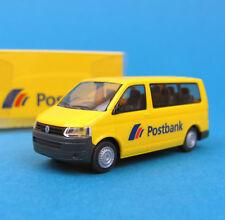 Rietze H0 VW T5 Bus Postbank SoMo Post Bulli OVP HO 1:87 box