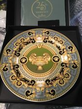 "VERSACE PRESTIGE GALA Service PLATE  9"" ROSENTHAL + сatalog in Box limited ed"