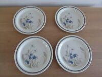 Royal Doulton Hill 4 Salad Plates