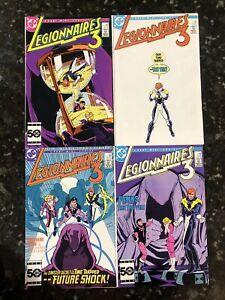 Legionnaires 3 1-4 Complete 1986 Miniseries - Legion Of Super Heroes 1 2 3 4