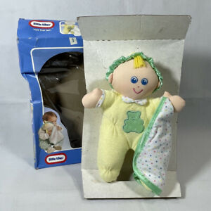 Vintage 1994 LITTLE TIKES SOFT FRIEND 'N BLANKET Boy Plush BABY TOY NEW IN BOX