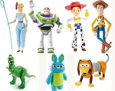 TOY STORY 4 ACTION FIGURE - WOODY, BUZZ, BO-PEEP, SLINKY DOG, REX, BUNNY, JESSIE