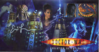 "Doctor Who Collectable Stamp Cover ""Evolution Of The Daleks"" - Signed ERIC LOREN"