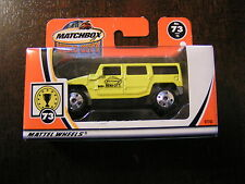 MATCHBOX  MADE IN CHINA  HUMMER H2 SUV CONCEPT