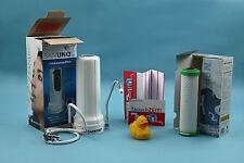 Carbonit SanUno Sparset Wasserfilter, Auftischgerät inkl. 2 x NFP Premium Filter