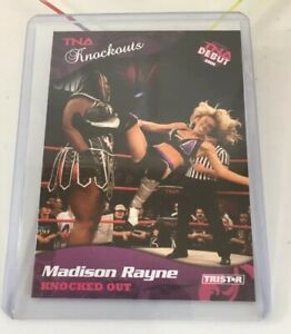 Madison Rayne Tna Knockouts Debut Rookie 2009 #8