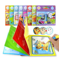 Kids Toys Water Drawing Book Magic Doodle Coloring Pamphlet Books for Children