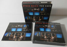 STEVE REICH The Cave 2 CD Box Set 1995, Nonesuch - Modern Classical