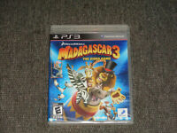 Madagascar 3: The Video Game (Sony PlayStation 3, 2012) New & Sealed