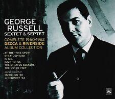 George Russell Sextet & Septet - The Complete 1960-1962 Decca & Riverside 4-cd