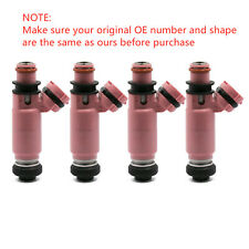 4 Pcs New Pink 565cc Fuel Injectors For Subaru STI WRX Forester 16611-AA370