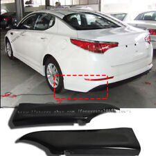 For Kia Optima K5 2010-2013 PP Rear Bumper Lip Splitters Unpainted Poly Urethane