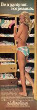 Eiderlon Topless Model Panty Nut For Peanuts PANTIES 1974 Magazine Print Ad