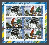 "Moldova 2010 CEPT Europa ""Children's Books"" 6 MNH stamps Booklet"