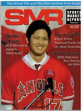 SMR Sports Market Report PSA/DNA Guide Magazine #285 SHOHEI OHTANI April 2018
