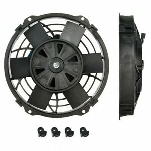 """DAVIES CRAIG 10"""" 12V THERMATIC FAN 0147 WITH MOUNTING FEET"""
