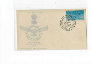 India 1958 Airforce FDC
