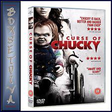 CURSE OF CHUCKY - Brad Dourif & Brennan Elliott  **BRAND NEW DVD **