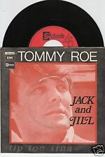 TOMMY ROE Jack And Jill 45/FRENCH/PIC