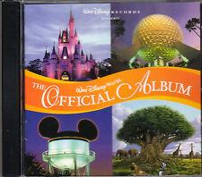 Walt Disney World: THE OFFICIAL ALBUM - ORLANDO THEME PARK SOUNDTRACK CD! (1998)