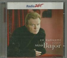 MICHAL BAJOR - ZA KULISAMI 2004 AUTOGRAPHED TOP RARE OOP CD POLSKA POLAND