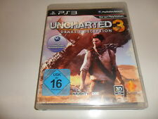 PLAYSTATION 3 PS 3 ps3 UNCHARTED 3: Drake 's Deception