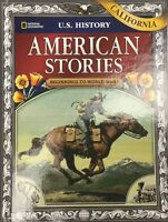 National Geographic US History American Stories Beginning-WWI 8th Grade Textbook