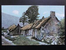 Scotland: A Highland Hut - Old Postcard