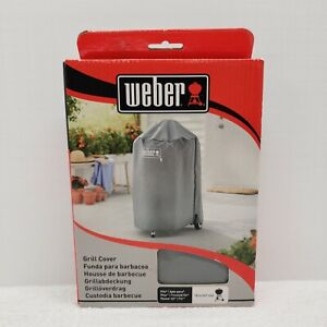 """Weber Charcoal Grill Cover #7175, 18"""" - fastening straps- Grey - New"""