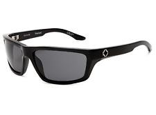 NEW Spy Kash Sunglasses-Black Gloss-Grey Polarized Lens-SAME DAY SHIPPING!