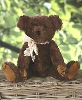 Teddy Bear 'Ryan' Settler Bears Handmade Collectable Boy Genuine Mohair 25cms