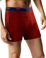 New Men's Hanes Multi Color Tagless Comfort Boxer Briefs (Small) Q.