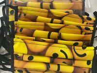 Mascherina SMILE viso unisex adulto personalizzata pronta consegna MADE in ITALY