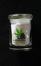 Glass Medical Marijuana Cannabis Stash Jar HARBORSIDE Health Center WEED WARS
